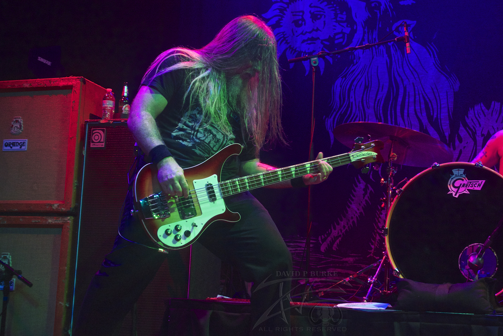 Down bassist Pat Bruders  photo: David Burke