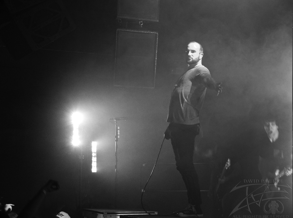 August Burns Red Lead Vocalist Jake Luhrs    photo: David Burke