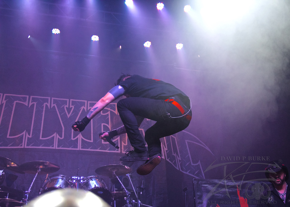 Hellyeah's Chad Gray    photo: David Burke