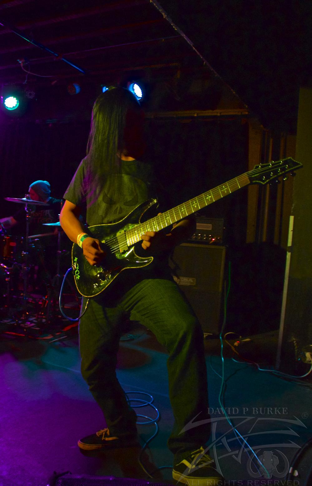Son Survivor's guitarist Yosh Yoshikawa  photo: David Burke