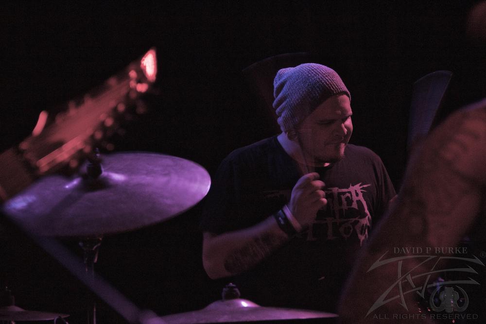 Son Survivor's drummer Ryan Oaks  photo: David Burke