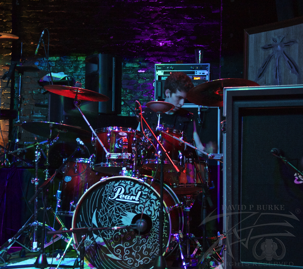 Scarlight drummer Joe Gordon   photo: David Burke