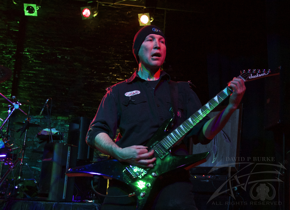 SmackFactor guitarist Shawn Wolf    photo:David Burke