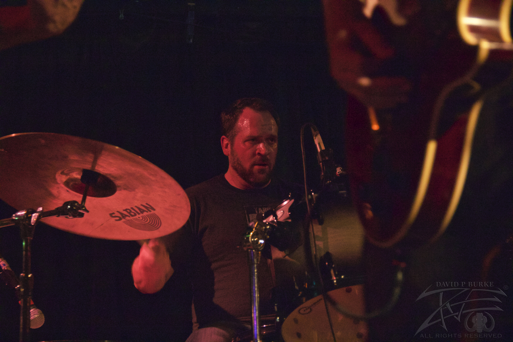 Throttlebomb drummer Adam Mullins    photo: David Burke