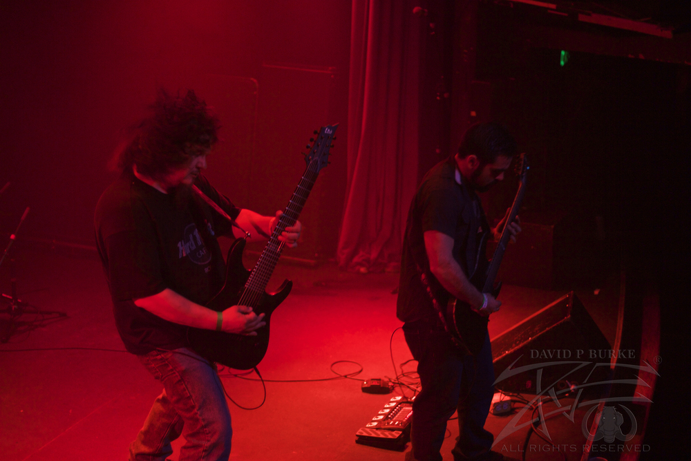 Perpetual Dementia's Stoney Dearduff and Ara Loussaraian    photo: David Burke