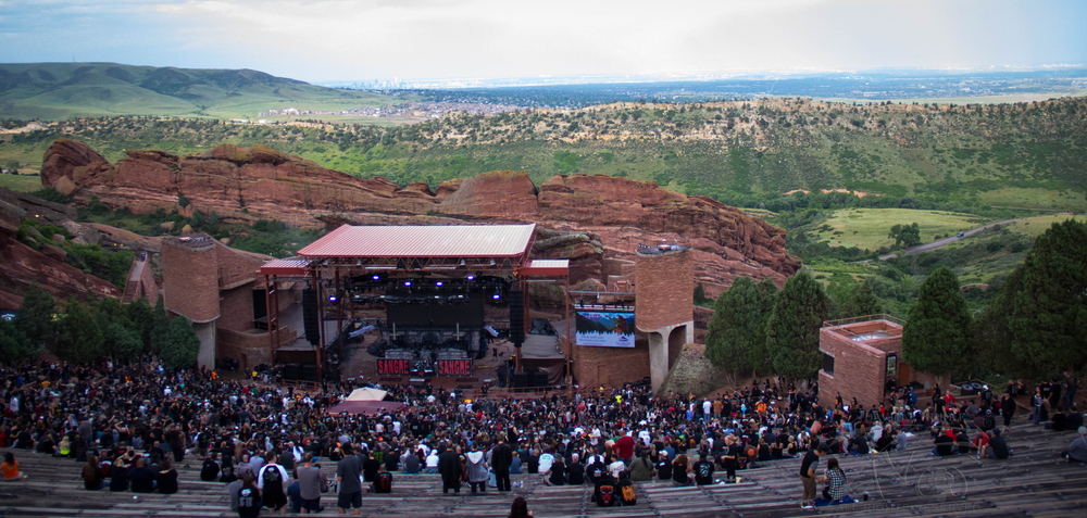Legendary Red Rock Amphitheater Morrison CO    photo:David Burke