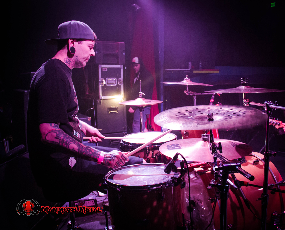 Dead Dream Escape drummer Jesse Gemme    photo: David Burke