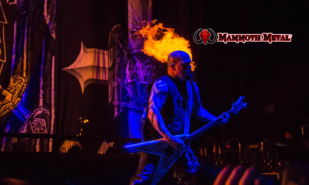 Kerry King as Ghost Rider at Knotfest 2016    photo: David Burke