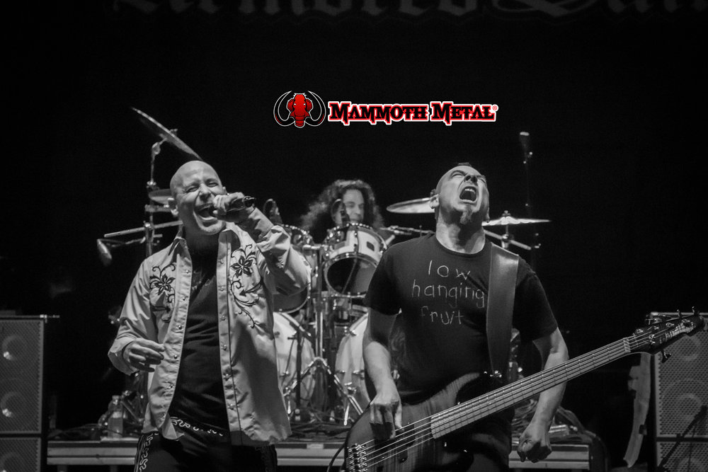 Armored Saint Friday night Campers only show    photo: David Burke