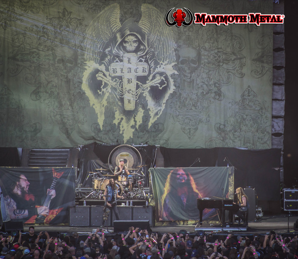 BLS remembering Dime as he was a big player at the Ozzfests    photo: David Burke