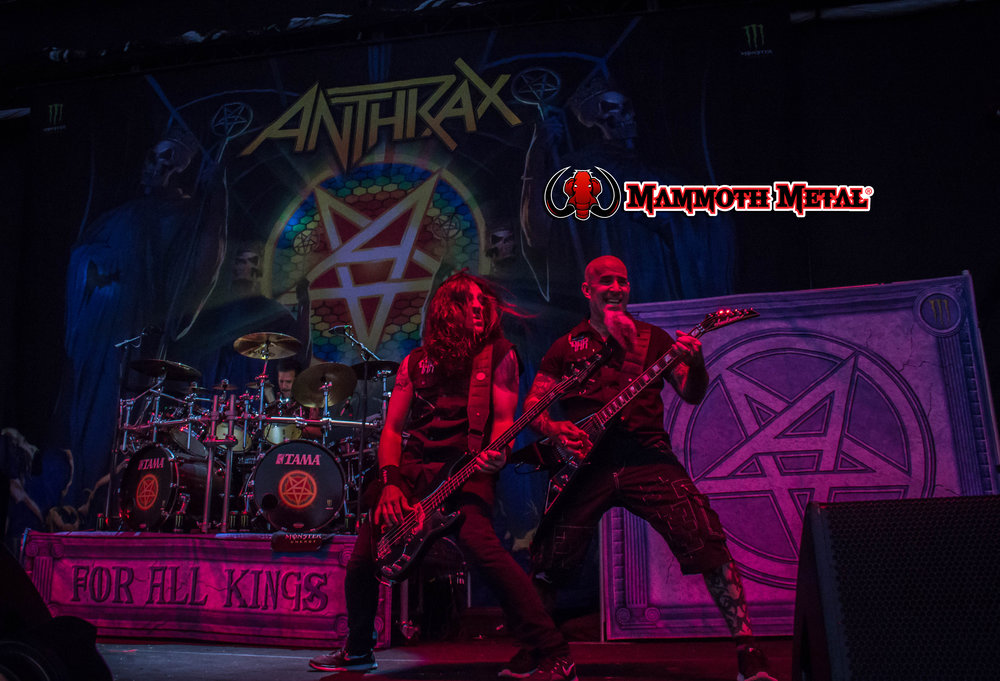 The Big Four's Anthrax    photo: David Burke