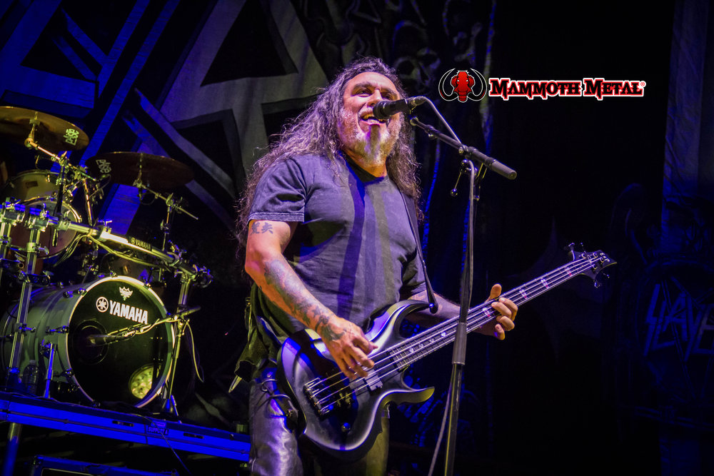 Slayer's Tom Araya    photo: David Burke
