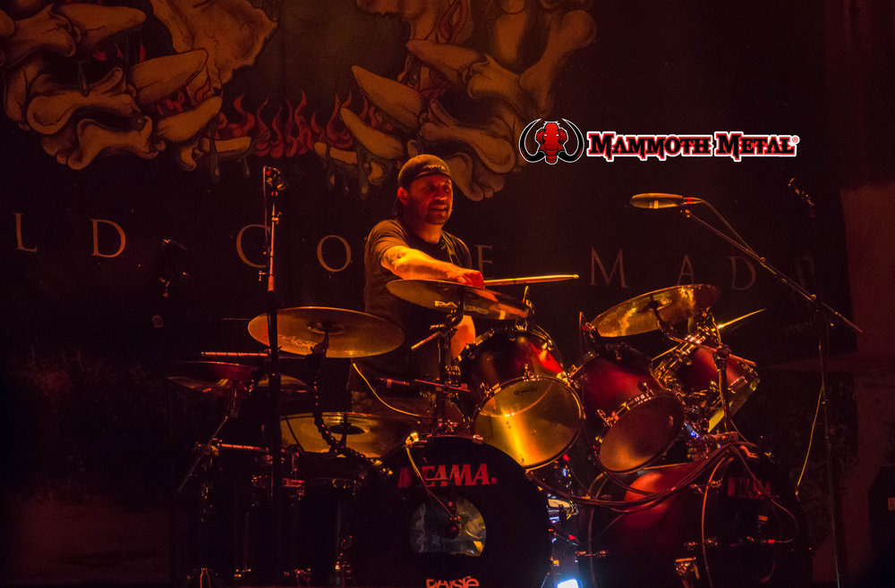 Seeing and hearing on of metal most influential drummers today Dave Lombardo was special.    photo: David Burke