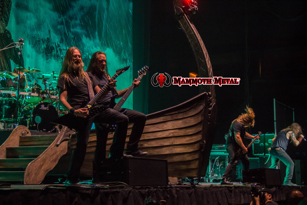 Amon Amarth photo: David Burke