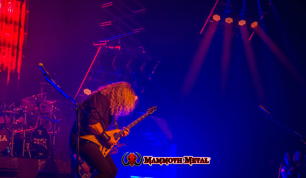 Megadeth  photo: David Burke