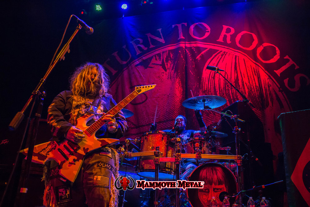 Max & Iggor Cavalera Destroyed Denver     photo: David Burke