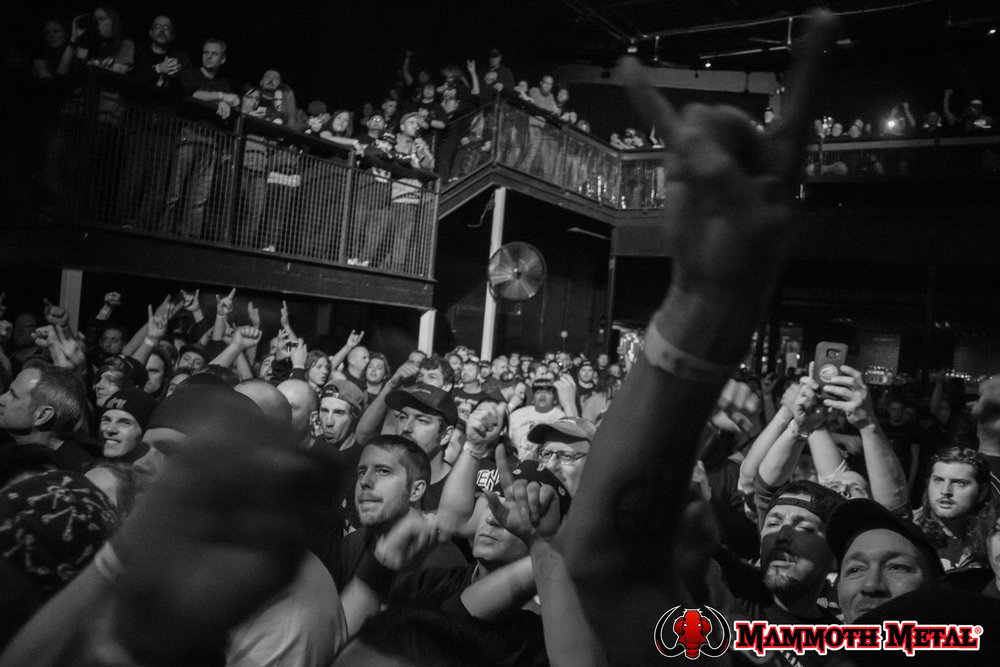 Havok's crowd was here early to show support and to get their fix!    photo: David Burke