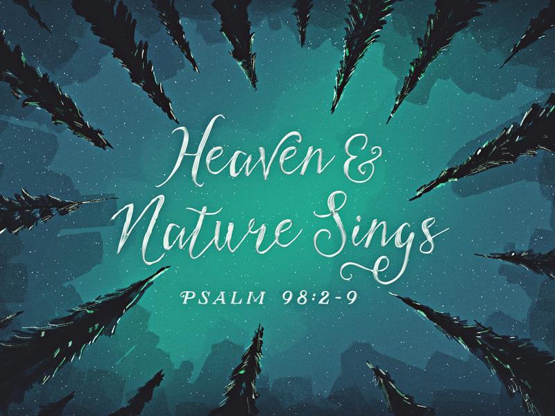 Joe Cavazos - Heaven & Nature Sings - Dribbble