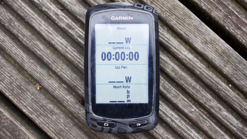 Garmin setup for cycling interval training