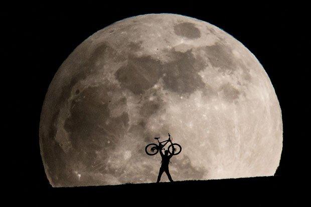 Image result for full moon bike ride
