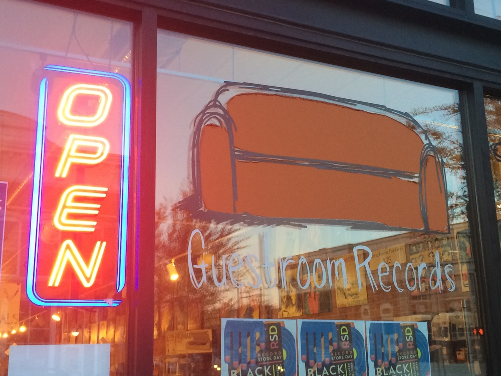 Guestroom Records in Downtown Norman.