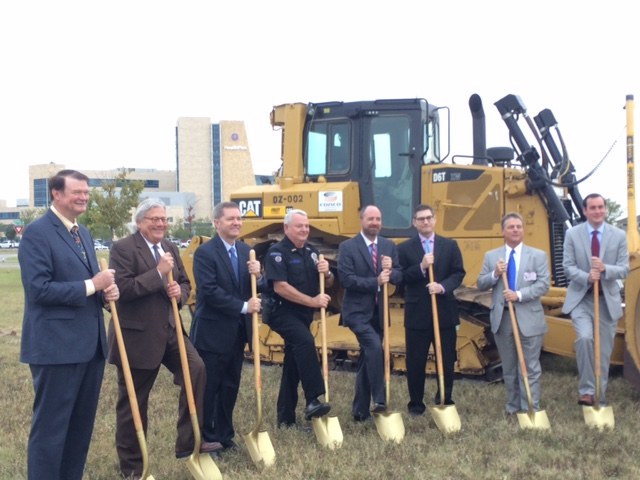 Ground Breaking on October 5, 2015