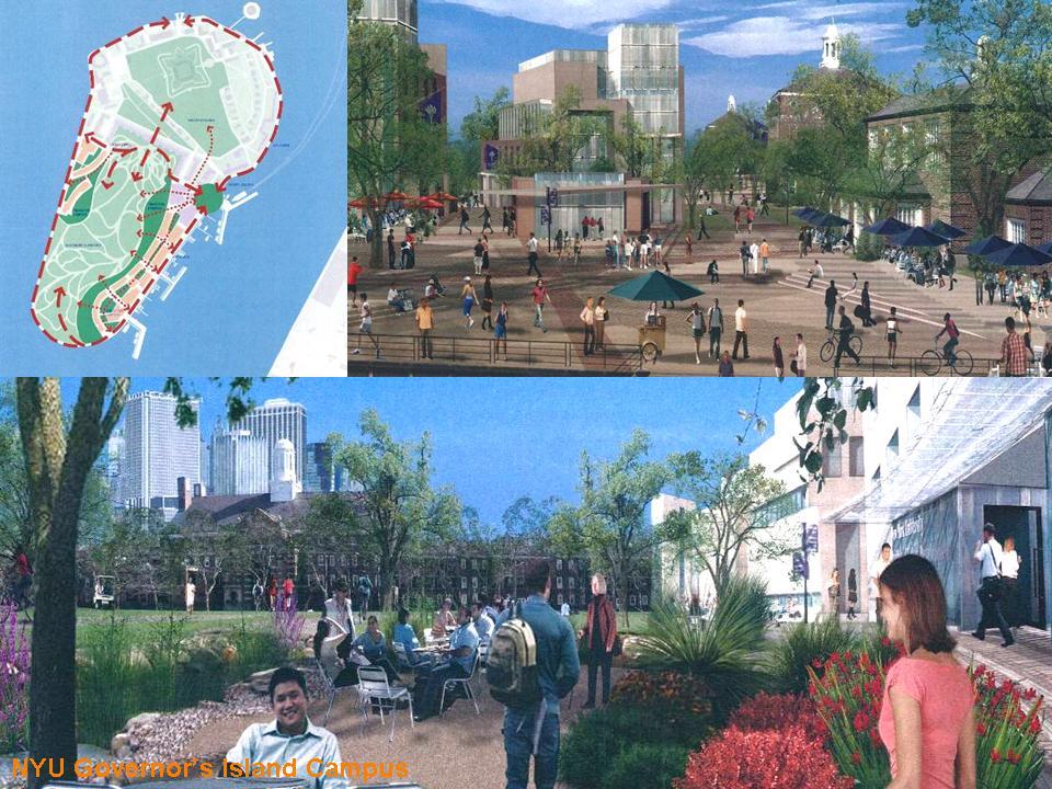 NYU Plan 2031 Governor's Island Campus**