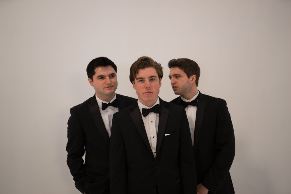 Sam Woolf and The Como Brothers.