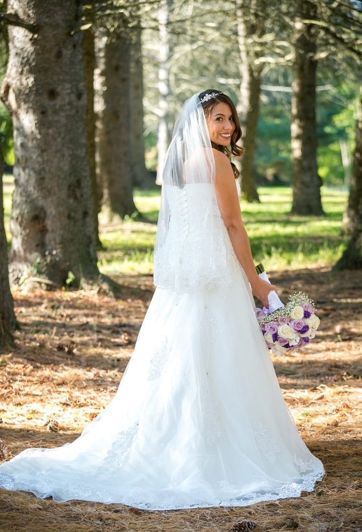 "- ""Rosi's bridal studio is just simply amazing!!! My dress is beautiful and everything I dreamed it to be!!! I can't wait to walk down the aisle showing off my dress. Thank Rosi's bridal studio for making my dress!!!"" - Crystal"