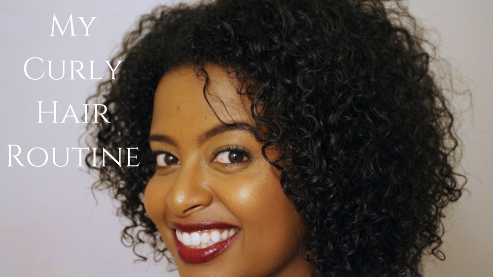 How To My Super Simple Curly Hair Routine Depth Candor