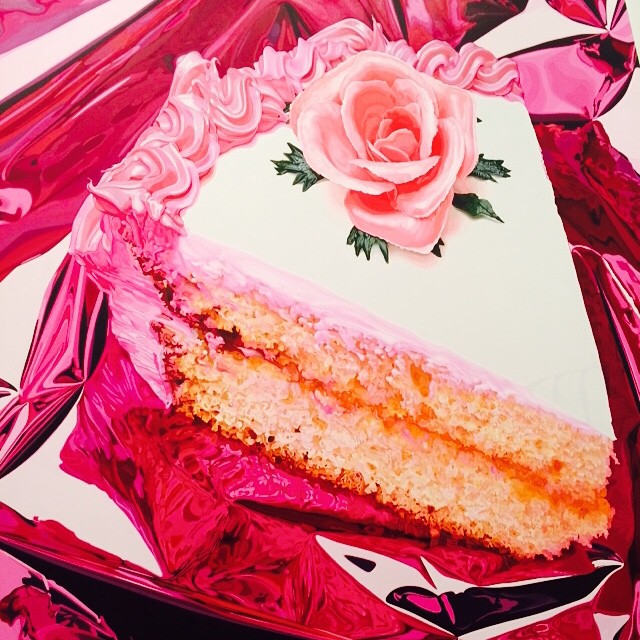 #cake !! #art #nyc #JeffKoons  (at Jeff Koons: A Retrospective, Whitney Museum)