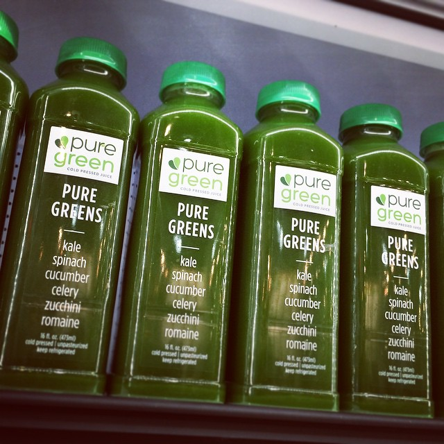 Get your #juice on! Soo yummy! #healthy #fitness #lifestyle #nyc | #design #logo by @PSDesignNYC (at Pure Green)