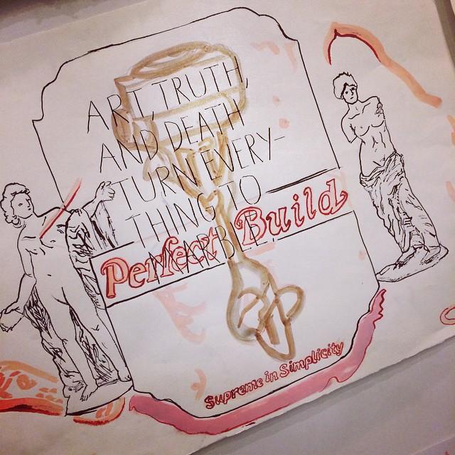 Raymond Pettibon #independentprojects #art #NYC #raymondpettibon