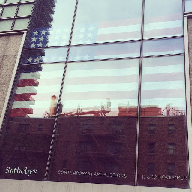 Excited to visit the #contemporary #art preview at @sothebys today! #art #NYC #sothebyscontemporary  (at Sotheby's Auction House)