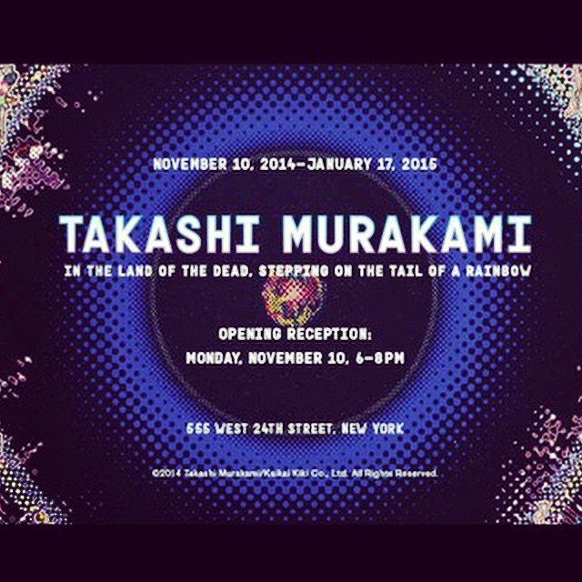 #TakashiMurakami opening tonight at @GagosianGallery #NYC #art #NewYork (at New York City)