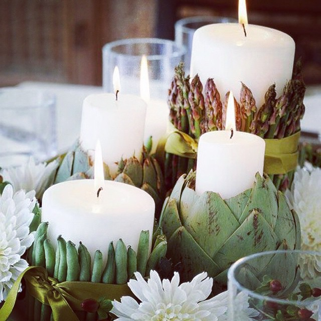 Fall #centerpiece #inspiration #interiors #home #decor #candles (at New York City)