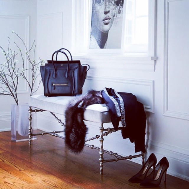 Chic entry #inspiration | #interiors #Céline #architecture (at New York City)