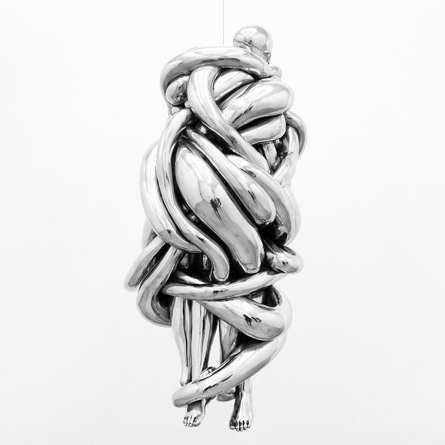 Beautiful hanging #sculpture | #LouiseBourgeois at #Cheim&Read #nyc #art #sculpture (at Cheim & Read)