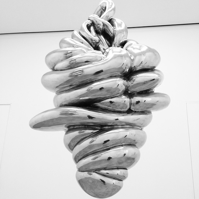 hanging #sculpture | #LouiseBourgeois at #Cheim&Read #nyc #art #sculpture (at Cheim & Read)