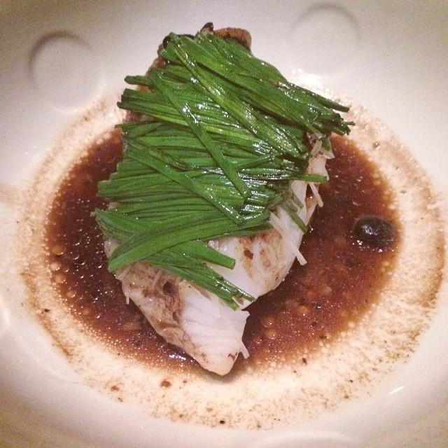 #Nobu Chilean Sea Bass with black bean sauce | #foodie #seabass #NYC (at Nobu New York)