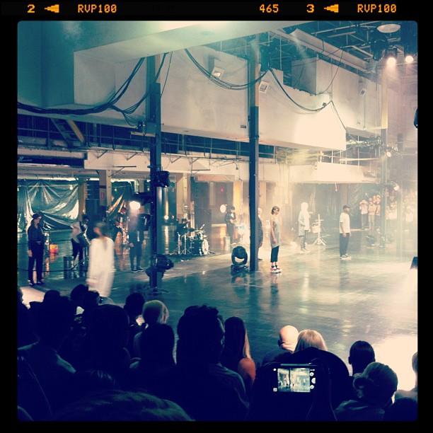 #Y3 Fashion Show #nyfw @adidasy3