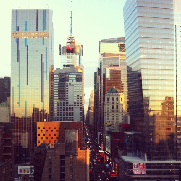#nyc #sunset (at Times Square)