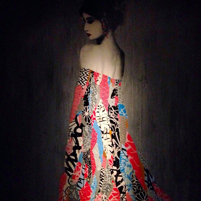 Beautiful painting at #TAO #downtown #nyc #art #interiors (at Tao Meatpacking)
