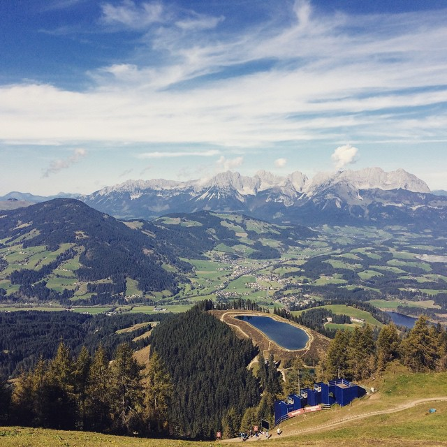 #tbt good times in #kitzbühel #austria … So beautiful! #travel #wanderlust (at Kitsbühel, Austria)