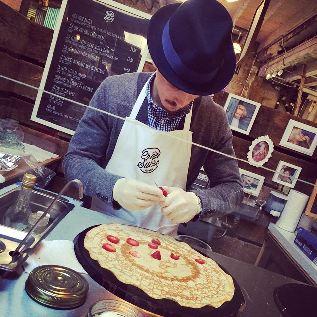 The best #crepes in #NYC!  @crepesucrenyc #french #foodie #gansevoortmarket (at Gansevoort Market)