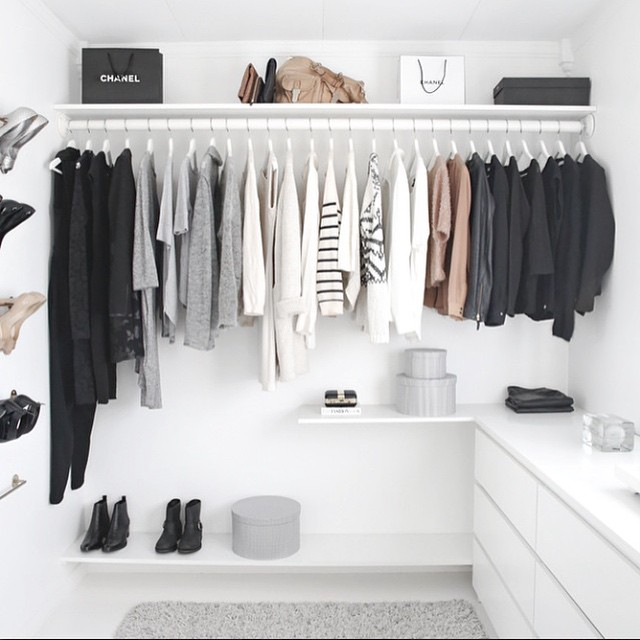 In love with this modern closet! #Closet #inspiration | repost from @stylizimoblog #interiors #modern #design #fashion #classic (at Manhattan, New York)