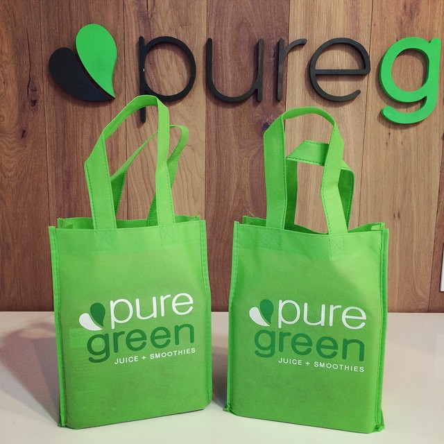 Excited to start another #coldpressedjuice #cleanse today!! @thepuregreen #healthy #fitness #lifestyle #juice #nyc #foodie #raw