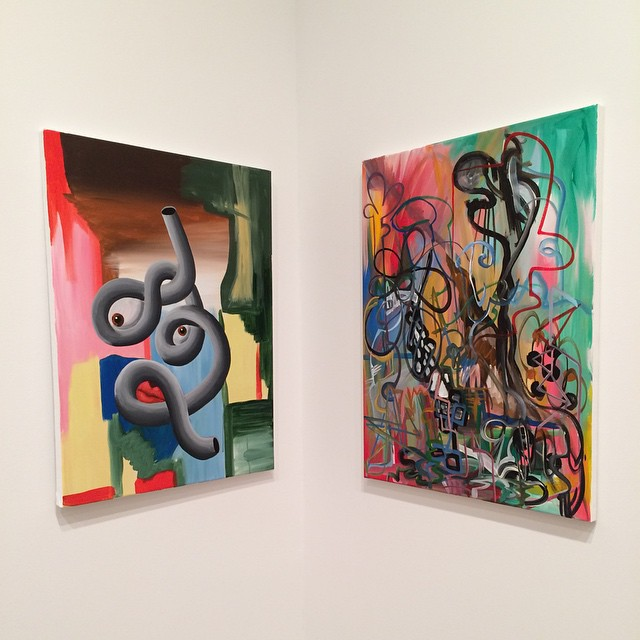 #DjordjeOzbolt  #HauserWirth #nyc #art #painting (at Hauser & Wirth)