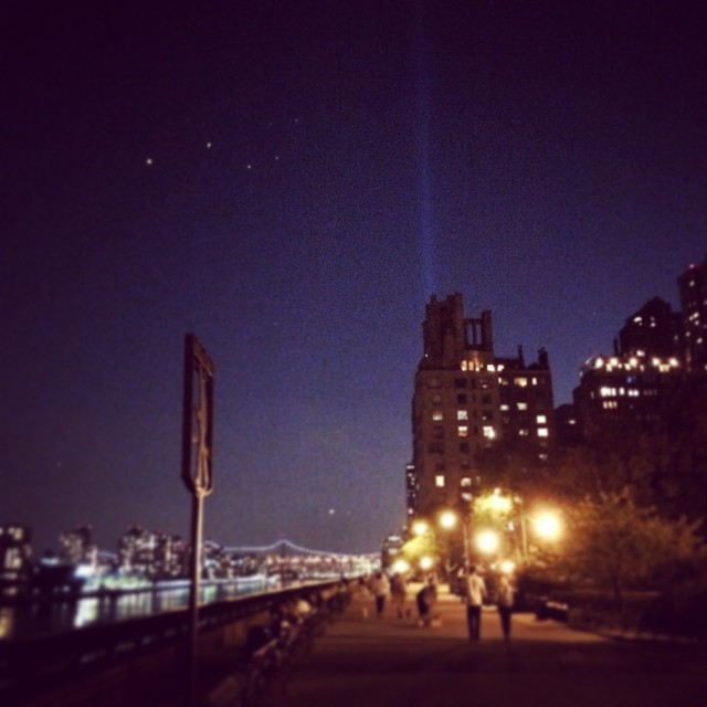 9/11 memorial #nyc #united (at Carl Schurz Park)