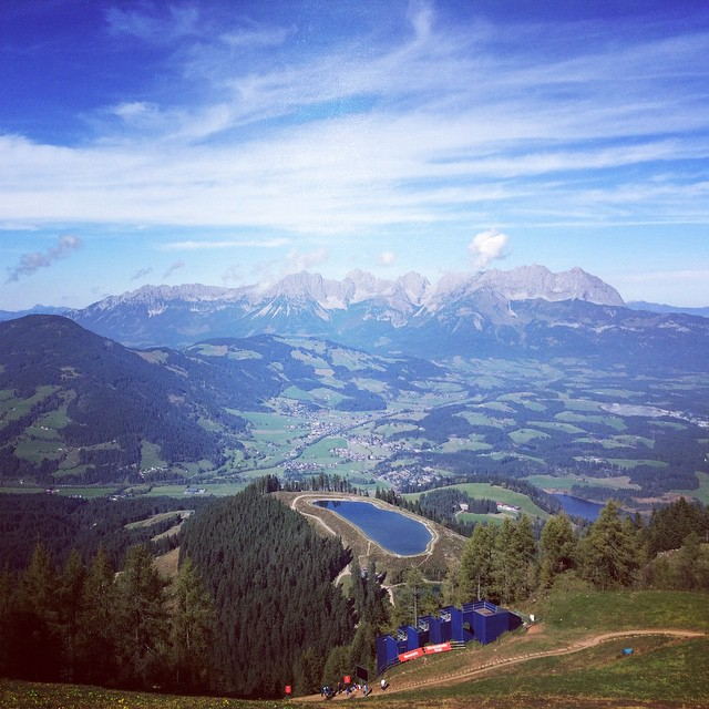 #mountain view #Austria  (at Kitzbühl)